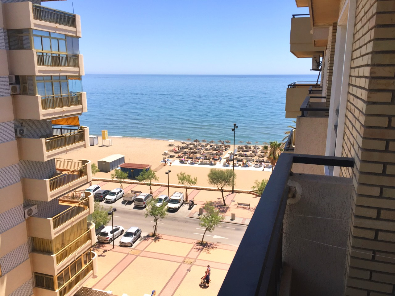 Hotel apartment 1st line beach
